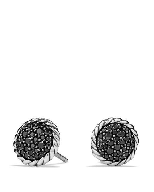 David Yurman - Metallic Châtelaine Pavé Earring With Black Diamonds - Lyst