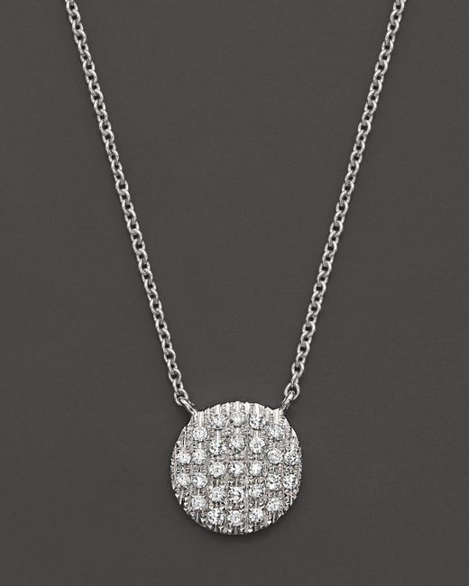 Dana Rebecca | Metallic 14k White Gold Lauren Joy Medium Necklace With Diamonds | Lyst
