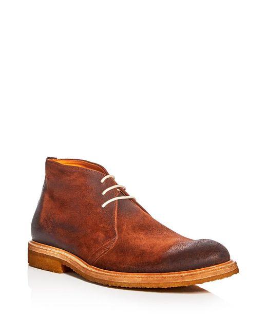 Crosby Square | Brown Brogan Chukka Boots for Men | Lyst