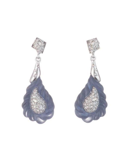 Alexis Bittar - Blue Lucite Rope Drop Earrings - Lyst