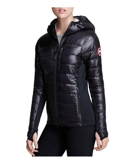 Canada Goose - Black Hybridge Light Hooded Jacket - Lyst