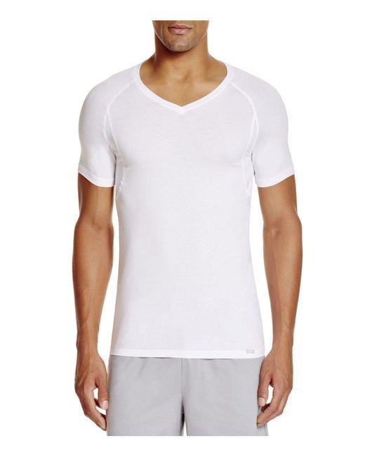 Hanro - White Urban Touch Short Sleeve Shirt for Men - Lyst
