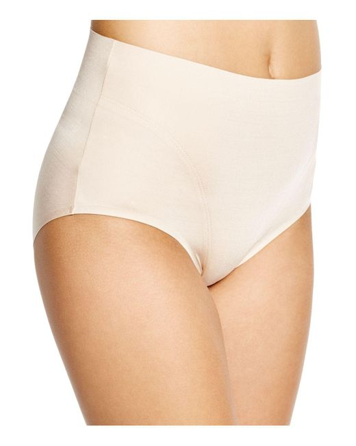 Spanx - Natural Retro Briefs - Lyst