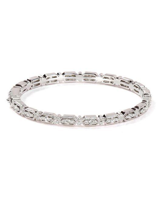 Nadri - Metallic Filigree Bracelet - Lyst