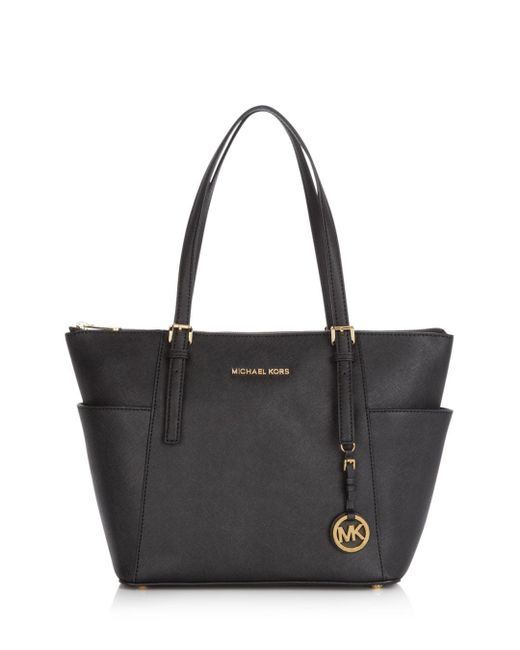 MICHAEL Michael Kors - Pink Jet Set East/west Saffiano Leather Tote - Lyst