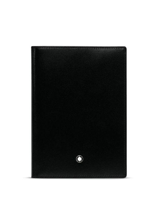 Montblanc - Black Meisterstück Passport Holder for Men - Lyst