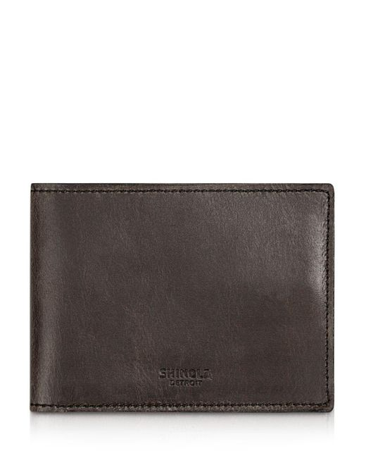 Shinola - Multicolor Distressed Slim Bifold Wallet for Men - Lyst