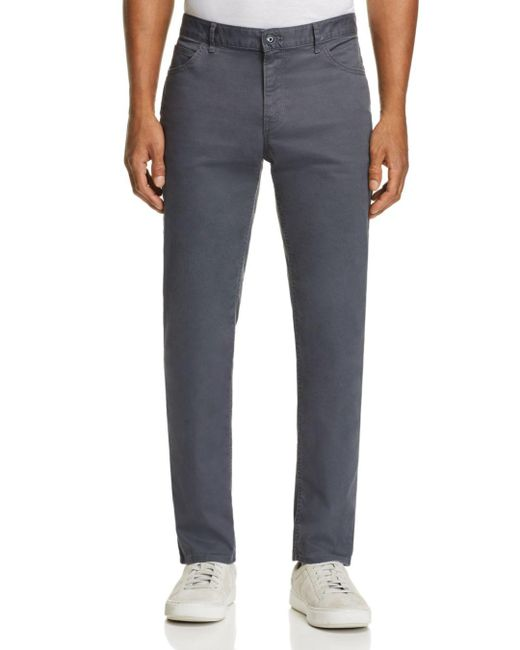 Michael Kors - Multicolor Parker Five-pocket Stretch Straight Fit Pants for Men - Lyst