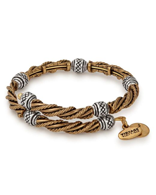 ALEX AND ANI - Metallic Relic Beaded Wrap Bracelet - Lyst