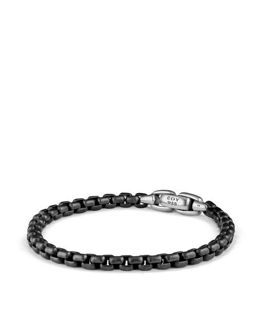 David Yurman   Black Box Chain Bracelet for Men   Lyst