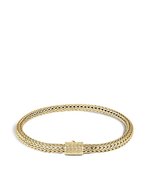 John Hardy | Metallic Classic Chain 18k Gold Extra Small Bracelet | Lyst