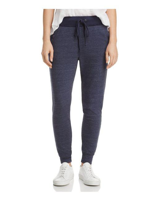 Splendid | Blue Jogger Pants | Lyst
