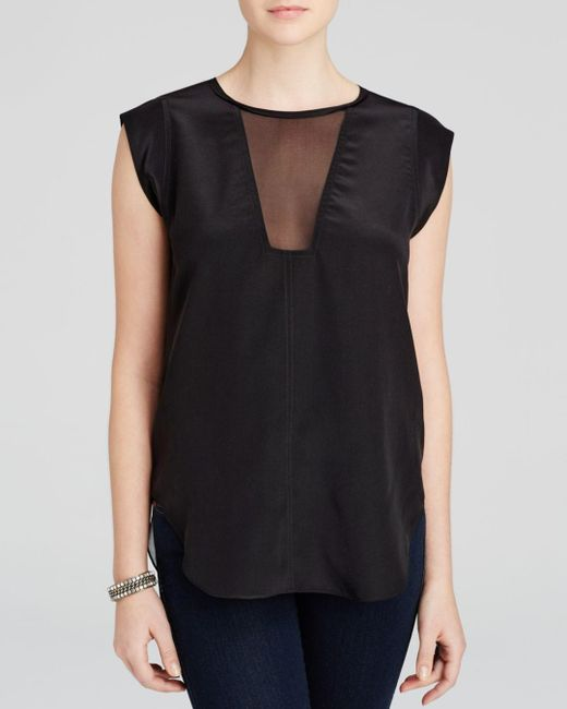 Rebecca Taylor - Blue Charlie Top - Lyst