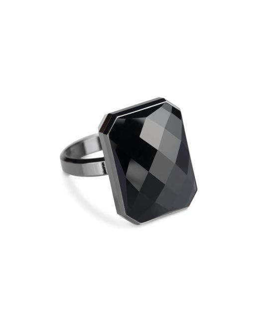 Ringly | Black Aries Activity Tracker Smart Ring In Onyx | Lyst