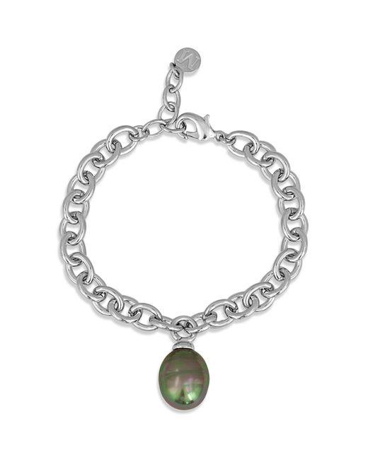 Majorica - Metallic Simulated Pearl Bracelet - Lyst