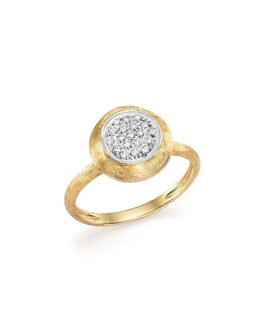 Marco Bicego | Metallic 18k White And Yellow Gold Jaipur Ring With Diamonds | Lyst