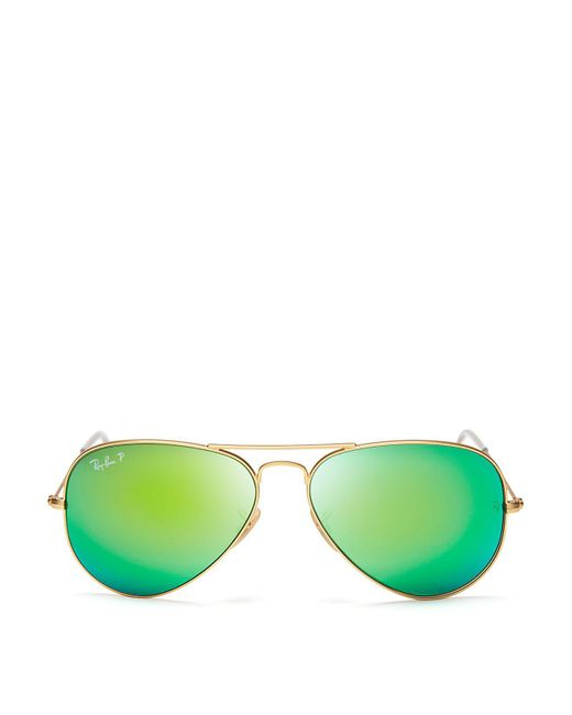 Ray-Ban | Green 58mm | Lyst