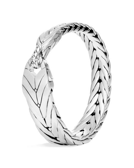 John Hardy - Metallic Sterling Silver Modern Chain Hook Bracelet for Men - Lyst