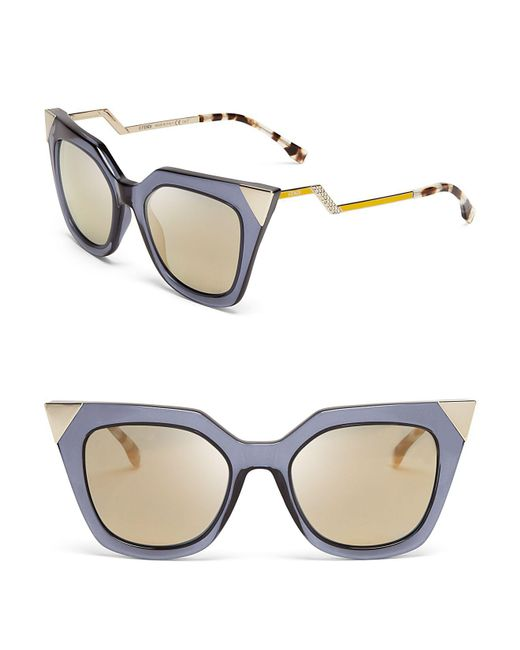 Fendi - Blue 52mm - Lyst