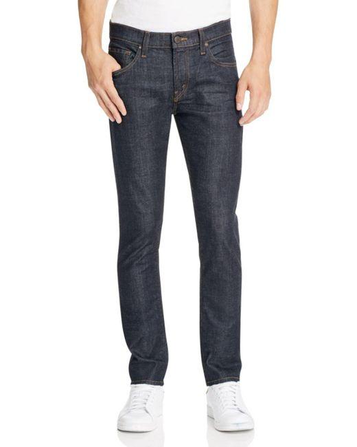 J Brand - Blue Mick Super Slim Fit Jeans In Hood for Men - Lyst