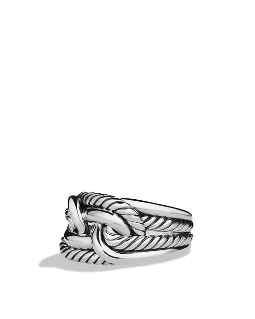 David Yurman | Metallic Labyrinth Ring | Lyst