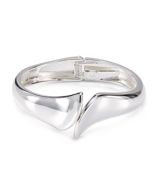 Robert Lee Morris | Metallic Angular Cuff | Lyst