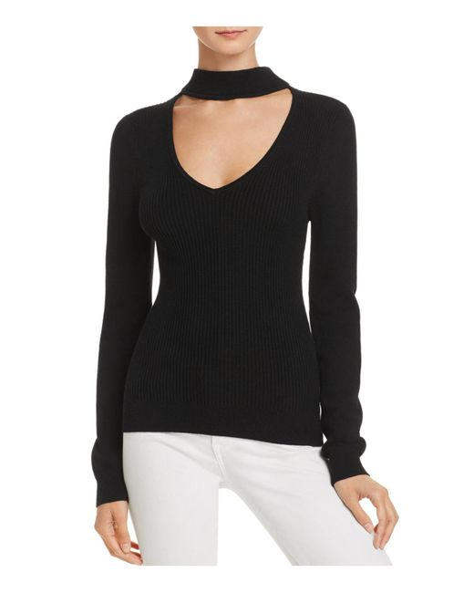Ramy Brook - Black V-back Jill Sweater - Lyst