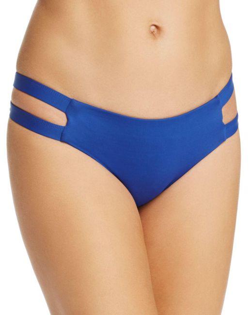 Tavik - Blue Chloe Full Coverage Bikini Bottom - Lyst