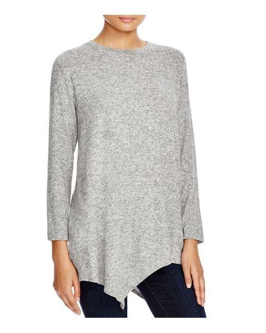 Nally & Millie | Gray Asymmetric Tunic | Lyst