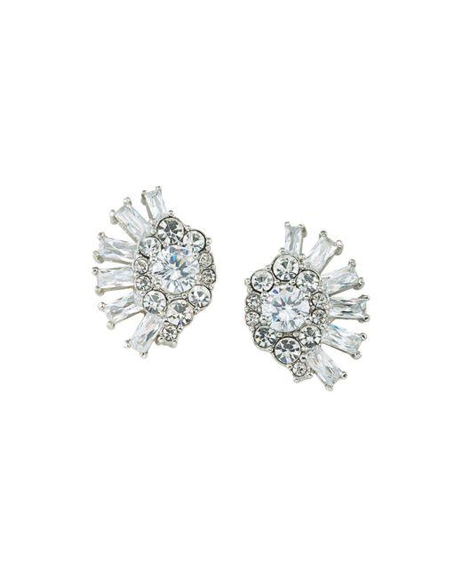 Carolee | Metallic Cluster Clip-on Earrings | Lyst