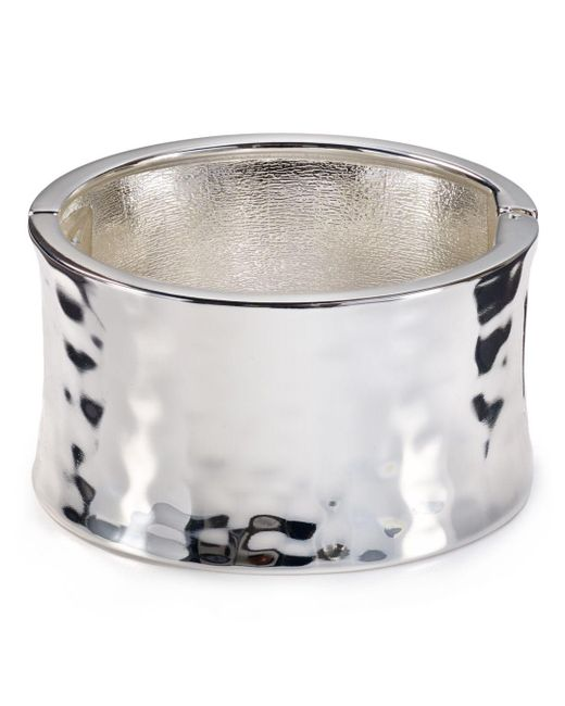 Robert Lee Morris - Metallic Metal Bangle - Lyst