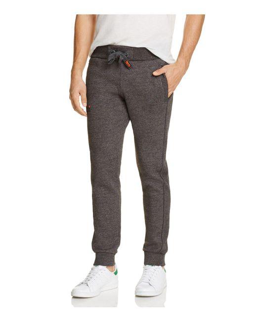 Superdry   Gray Orange Label Stealth Jogger Sweatpants for Men   Lyst