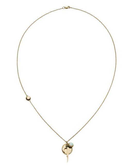 Shinola - Metallic Bolt Cluster Pendant Necklace - Lyst