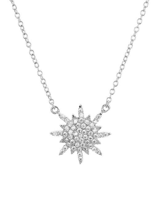"Aqua - Metallic Star Pendant Necklace 16"" - Lyst"