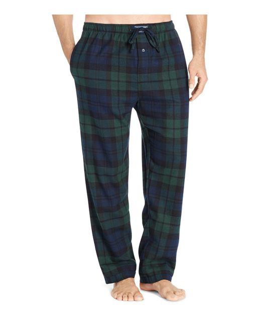 Polo Ralph Lauren Black Watch Plaid Flannel Pajama Pants