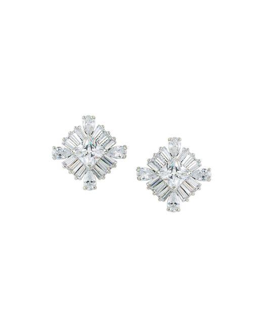 Carolee - Metallic Square Stud Earrings - Lyst