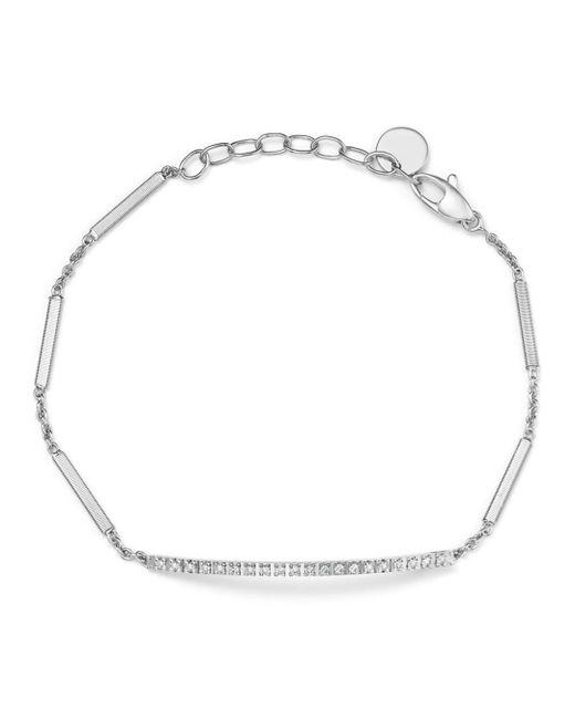 Marco Bicego - 18k White Gold Goa Diamond Chain Bracelet - Lyst