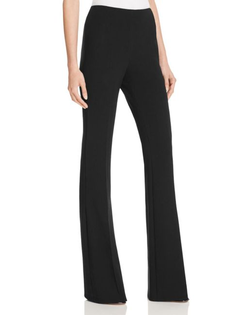 Theory - Black Demitria Admiral Crepe Flare Pants - Lyst