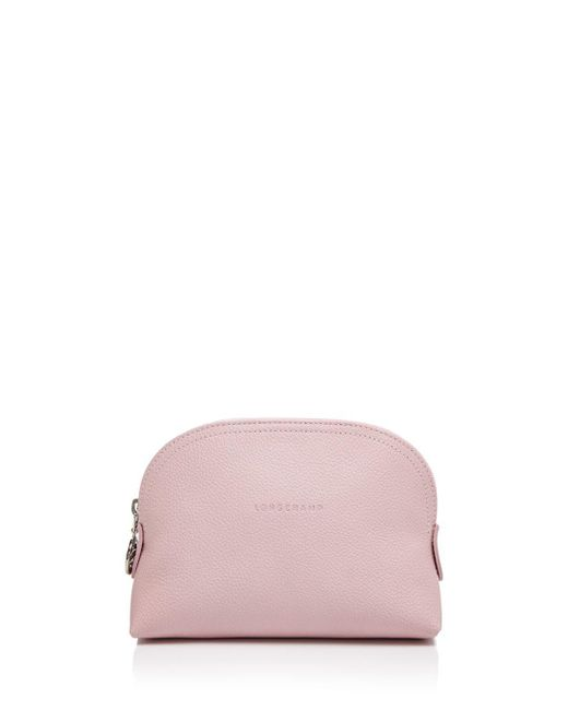 Longchamp - Pink Le Foulonne Dome Cosmetic Case - Lyst