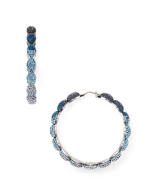 Atelier Swarovski - Multicolor Moselle Hoop Earrings - Lyst