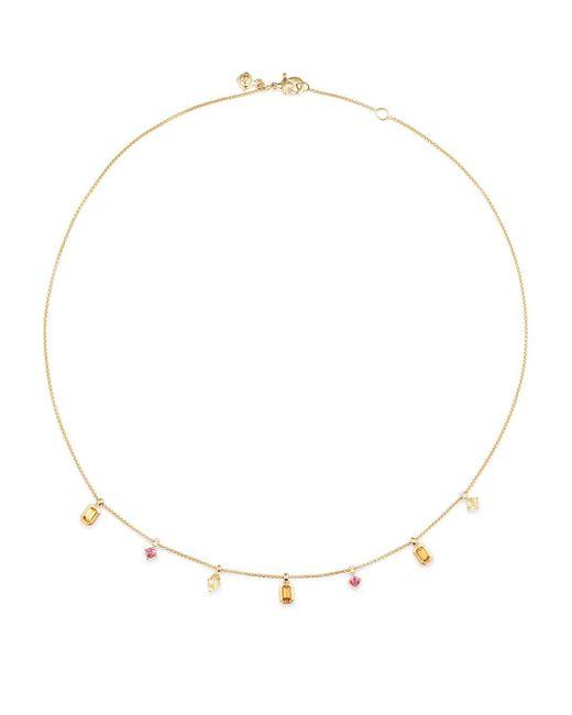 David Yurman - Metallic Novella 18k Yellow Gold, Gemstone & Diamond Necklace - Lyst