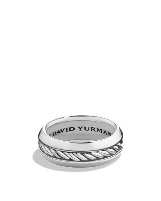 David Yurman - Metallic Cable Classics Band Ring - Lyst