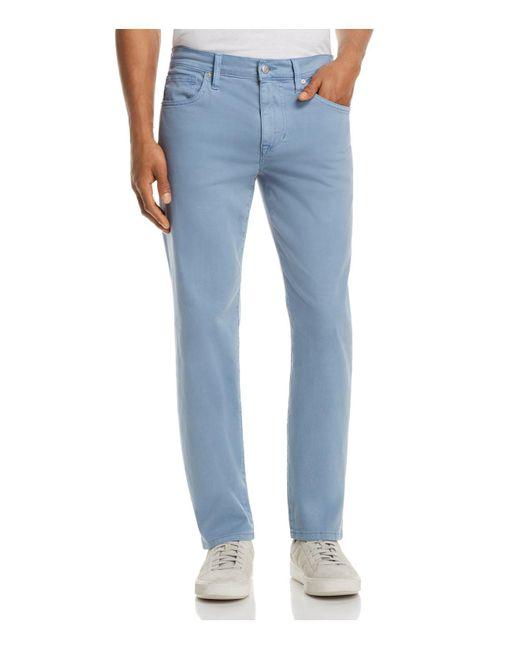 Joe's Jeans - Blue Brixton Straight Fit Twill Pants for Men - Lyst