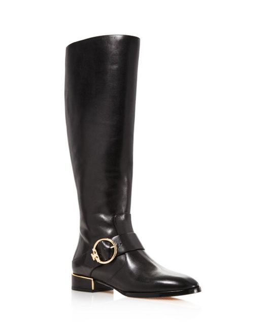 Tory Burch - Black Sofia Tall Riding Boots - Lyst