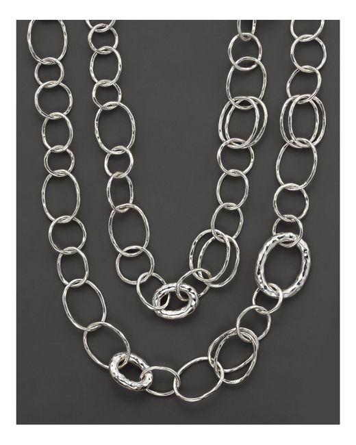 "Ippolita | Metallic Sterling Silver ""bastille"" Necklace | Lyst"