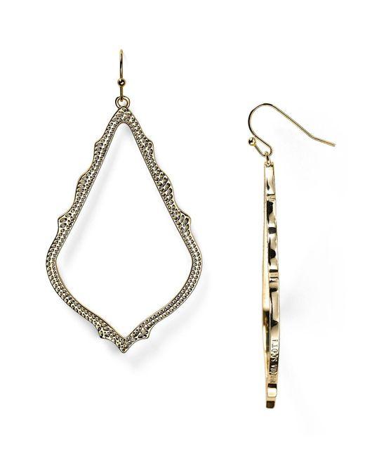 Kendra Scott - Metallic Sophee Drop Earrings - Lyst
