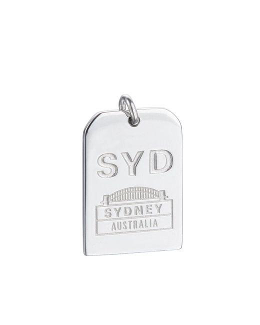 Jet Set Candy   Metallic Syd Sydney Luggage Tag Charm   Lyst