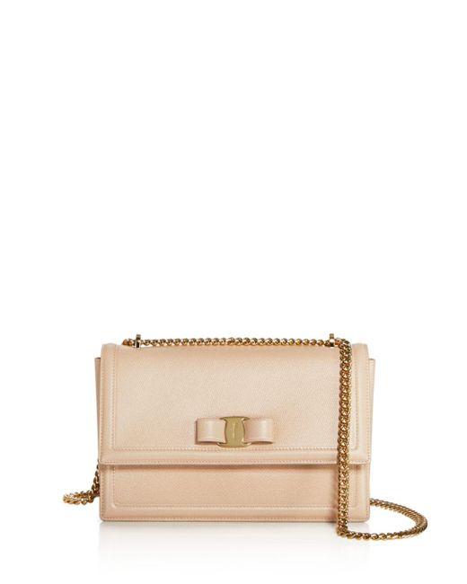 Ferragamo - Multicolor Ginny Medium Saffiano Leather Shoulder Bag - Lyst