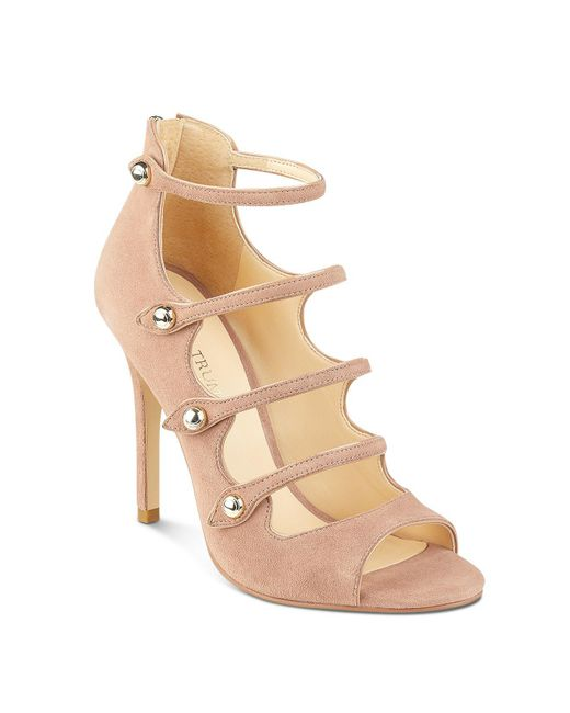 Ivanka Trump   Natural Houston Strappy High Heel Sandals   Lyst