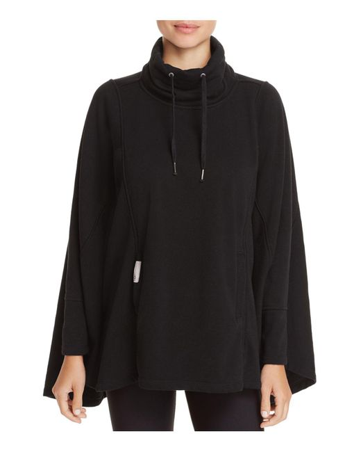Ugg | Black Selby Turtleneck Poncho Top | Lyst